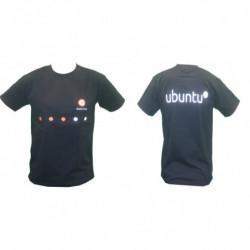 T-shirt Ubuntu Noir