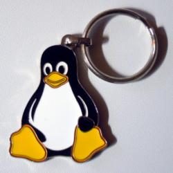 Porte clés Tux