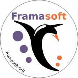 Sticker Framasoft