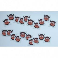 20 décalcomanies « Baby Gnou »