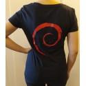 T-Shirt Ubuntu Cosmic Cuttlefish