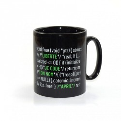 Mug April « Liberté je code...