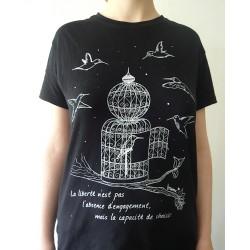 T-Shirt « Oiseaux » 42l