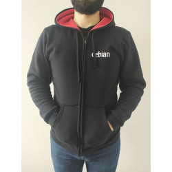 Sweat-Shirt Debian zip