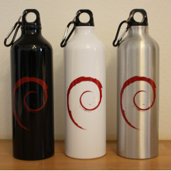 Debian water bottle